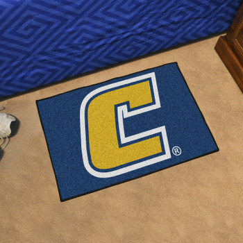 "19"" x 30"" University Tennessee Chattanooga Yellow Rectangle Starter Mat"