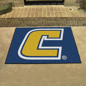 "33.75"" x 42.5"" University Tennessee Chattanooga All Star Yellow Rectangle Mat"