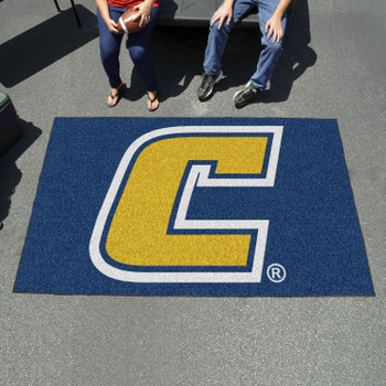 "59.5"" x 94.5"" University Tennessee Chattanooga Yellow Rectangle Ulti Mat"