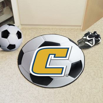 "27"" University Tennessee Chattanooga Soccer Ball Round Mat"