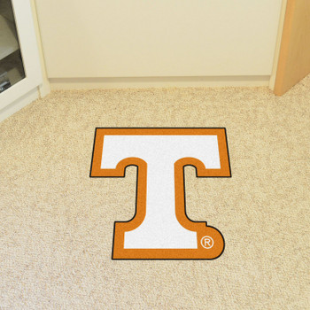 "University of Tennessee Mascot Mat - ""Power T"" Logo"