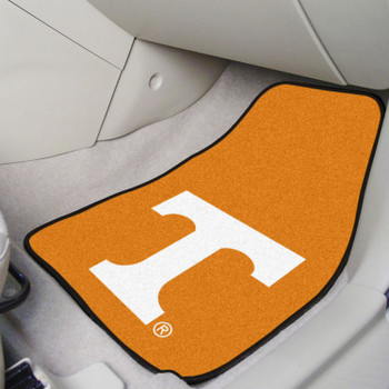 University of Tennessee Orange Carpet Car Mat, Set of 2