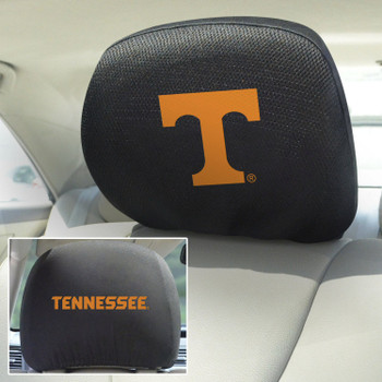 University of Tennessee Car Headrest Cover, Set of 2