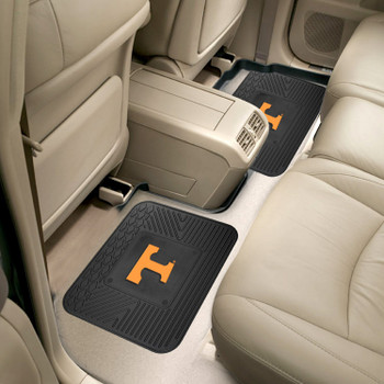 University of Tennessee Heavy Duty Vinyl Car Utility Mats, Set of 2