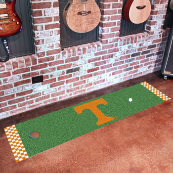 "18"" x 72"" University of Tennessee Putting Green Runner Mat"