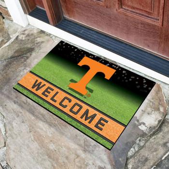 """18"""" x 30"""" University of Tennessee Crumb Rubber Door Mat"""