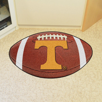 "20.5"" x 32.5"" University of Tennessee Football Shape Mat"