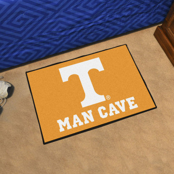 "19"" x 30"" University of Tennessee Man Cave Starter Orange Rectangle Mat"