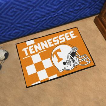 "19"" x 30"" University of Tennessee Uniform Orange Rectangle Starter Mat"