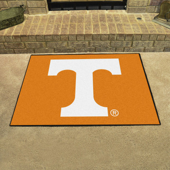 "33.75"" x 42.5"" University of Tennessee All Star Orange Rectangle Mat"