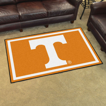 4' x 6' University of Tennessee Orange Rectangle Rug