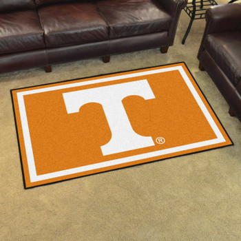 5' x 8' University of Tennessee Orange Rectangle Rug