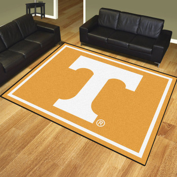8' x 10' University of Tennessee Orange Rectangle Rug