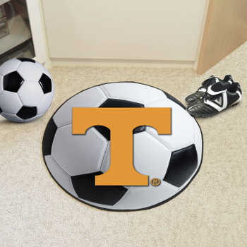 "27"" University of Tennessee Soccer Ball Round Mat"