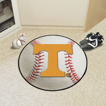 "27"" University of Tennessee Baseball Style Round Mat"