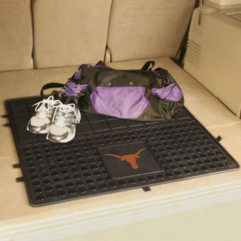 "31"" University of Texas Heavy Duty Vinyl Cargo Trunk Mat"