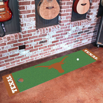 "18"" x 72"" University of Texas Putting Green Runner Mat"