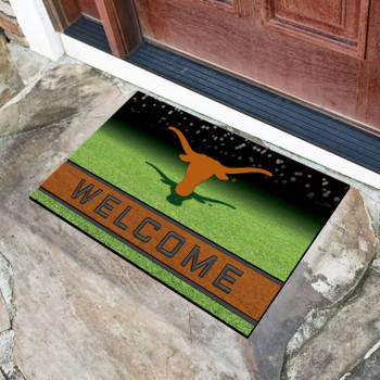 "18"" x 30"" University of Texas Crumb Rubber Door Mat"