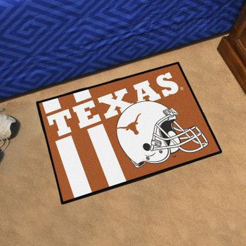 "19"" x 30"" University of Texas Uniform Orange Rectangle Starter Mat"