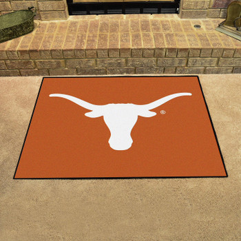 "33.75"" x 42.5"" University of Texas All Star Orange Rectangle Mat"