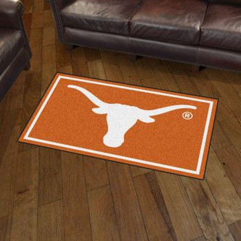 3' x 5' University of Texas Orange Rectangle Rug