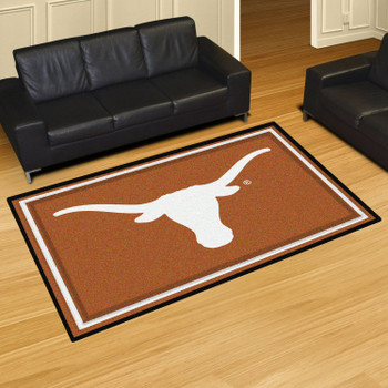 5' x 8' University of Texas Orange Rectangle Rug