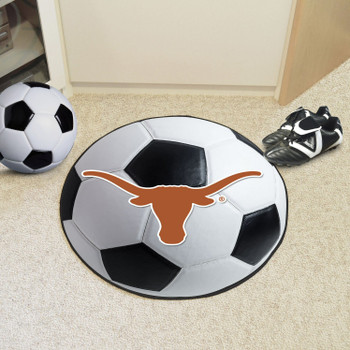 "27"" University of Texas Soccer Ball Round Mat"