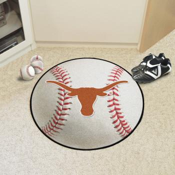 "27"" University of Texas Baseball Style Round Mat"