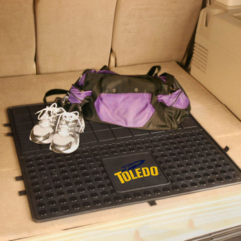 "31"" University of Toledo Heavy Duty Vinyl Cargo Trunk Mat"