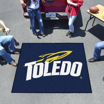 "59.5"" x 71"" University of Toledo Navy Blue Tailgater Mat"