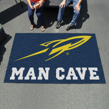 "59.5"" x 94.5"" University of Toledo Man Cave Navy Blue Rectangle Ulti Mat"