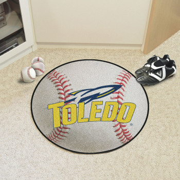 "27"" University of Toledo Baseball Style Round Mat"