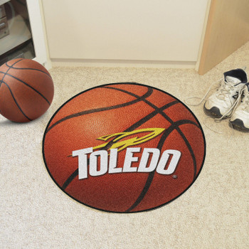 "27"" University of Toledo Basketball Style Round Mat"