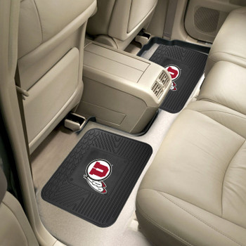University of Utah Heavy Duty Vinyl Car Utility Mats, Set of 2