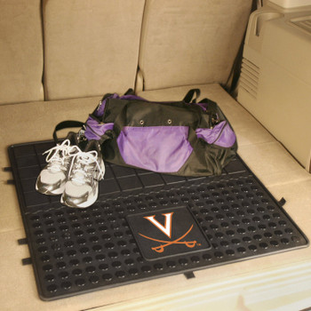 "31"" University of Virginia Heavy Duty Vinyl Cargo Trunk Mat"