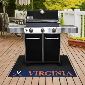 "26"" x 42"" University of Virginia Grill Mat"