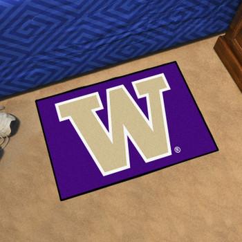 "19"" x 30"" University of Washington Rectangle Starter Mat"