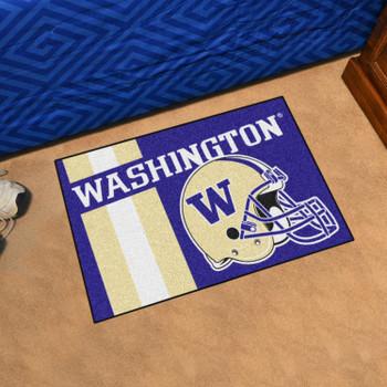 "19"" x 30"" University of Washington Uniform Purple Rectangle Starter Mat"