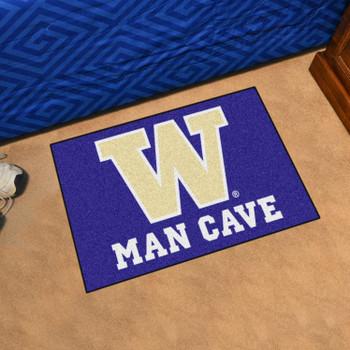"19"" x 30"" University of Washington Man Cave Starter Purple Rectangle Mat"