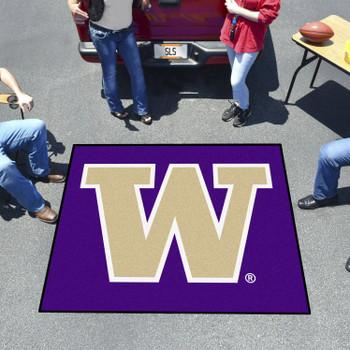"""59.5"""" x 71"""" University of Washington Purple Tailgater Mat"""