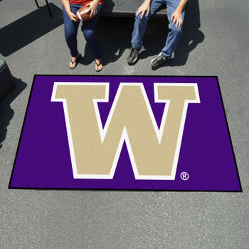 "59.5"" x 94.5"" University of Washington Purple Rectangle Ulti Mat"