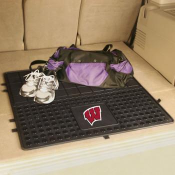 "31"" University of Wisconsin Heavy Duty Vinyl Cargo Trunk Mat"