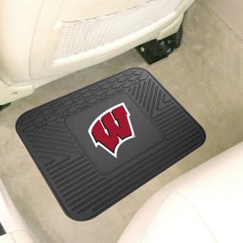 "14"" x 17"" University of Wisconsin Car Utility Mat"