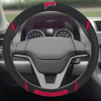 University of Wisconsin Steering Wheel Cover
