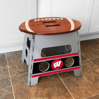 University of Wisconsin Folding Step Stool