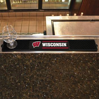 University of Wisconsin Vinyl Drink Mat