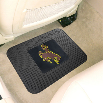 "14"" x 17"" University of Wyoming Car Utility Mat"