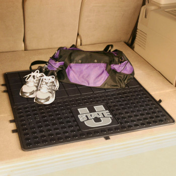 "31"" Utah State University Heavy Duty Vinyl Cargo Trunk Mat"