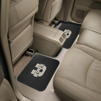 Utah State University Heavy Duty Vinyl Car Utility Mats, Set of 2