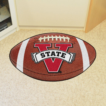 "20.5"" x 32.5"" Valdosta State University Football Shape Mat"